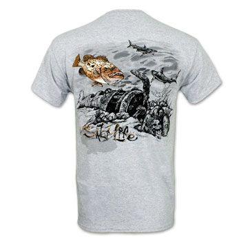 f4469d5b284e0 Salt Life Grouper Wreck T-Shirt #saltlife | Salt Life in 2019 ...