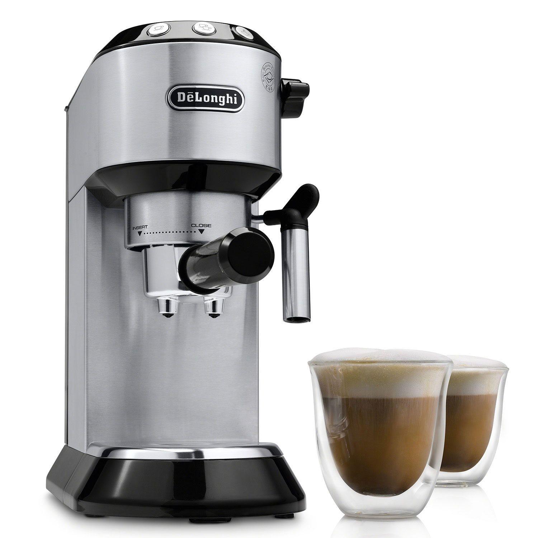 Delonghi Dedica Espresso And Cappuccino Machine Sam S Club In 2020 Espresso Cappuccino Machine Espresso Machine