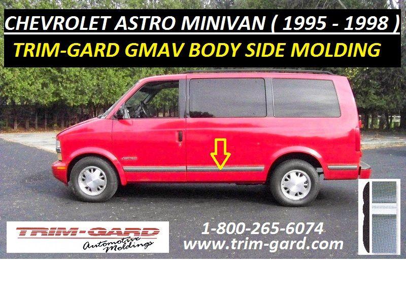 1995 1996 1997 1998 Chevrolet Astro Minivan Body Side Molding Trim Gard Manufacturers The Chevy Astro Minivan Bod Moldings And Trim Chevrolet Astro Mini Van