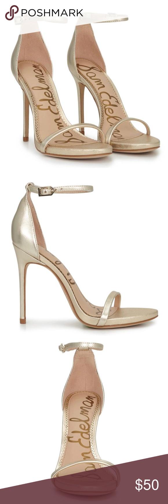 f4a844243de9 Sam Edelman -Ariella- ankle strap sandal NWT Sam Edelman -Ariella- ankle  strap