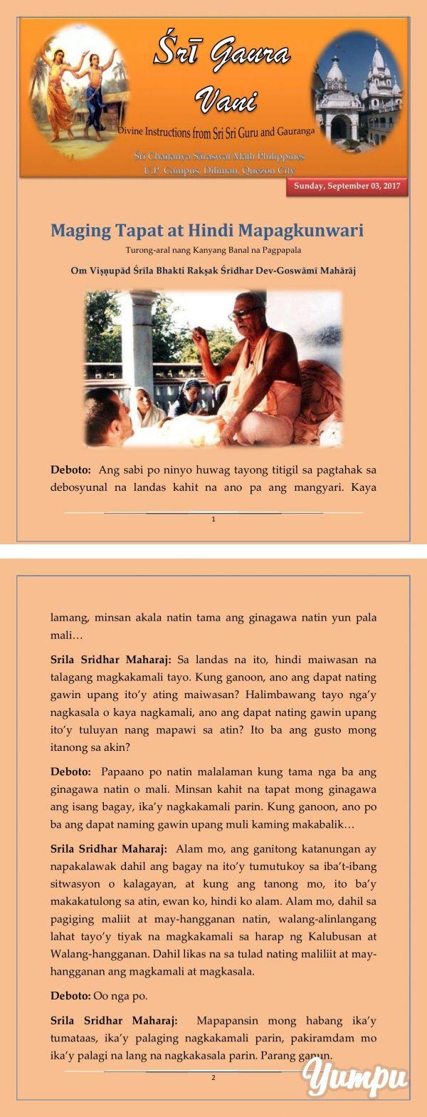 be-sincere-dont-imitate-filipino   Filipino, Screenshots
