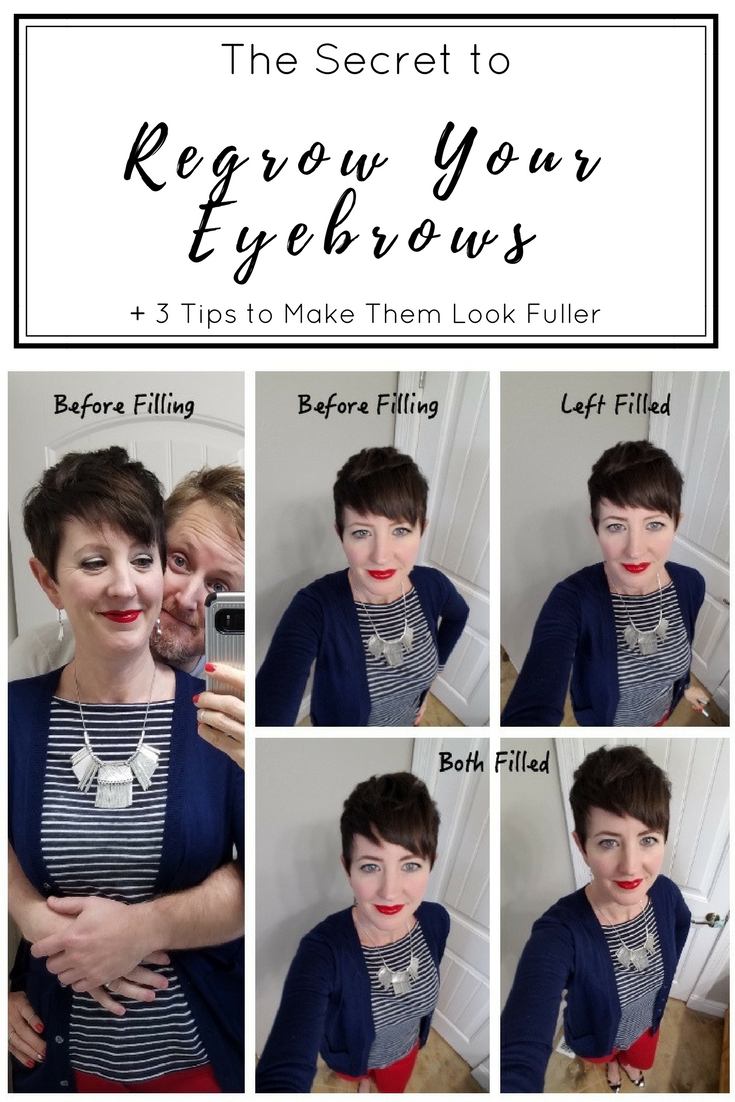 How I Regrew My Eyebrows and 3 Tips to Make Them Look ...