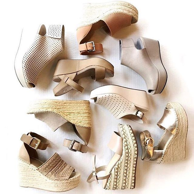 """Monkee's Of Mountain Brook on Instagram: """"Having only one option is NOT an option, right?! Good thing we've got you covered when it comes to summer wedges ☀️😍👌⠀ ⠀ #shoelover…"""" – OOTD on Instagram"""