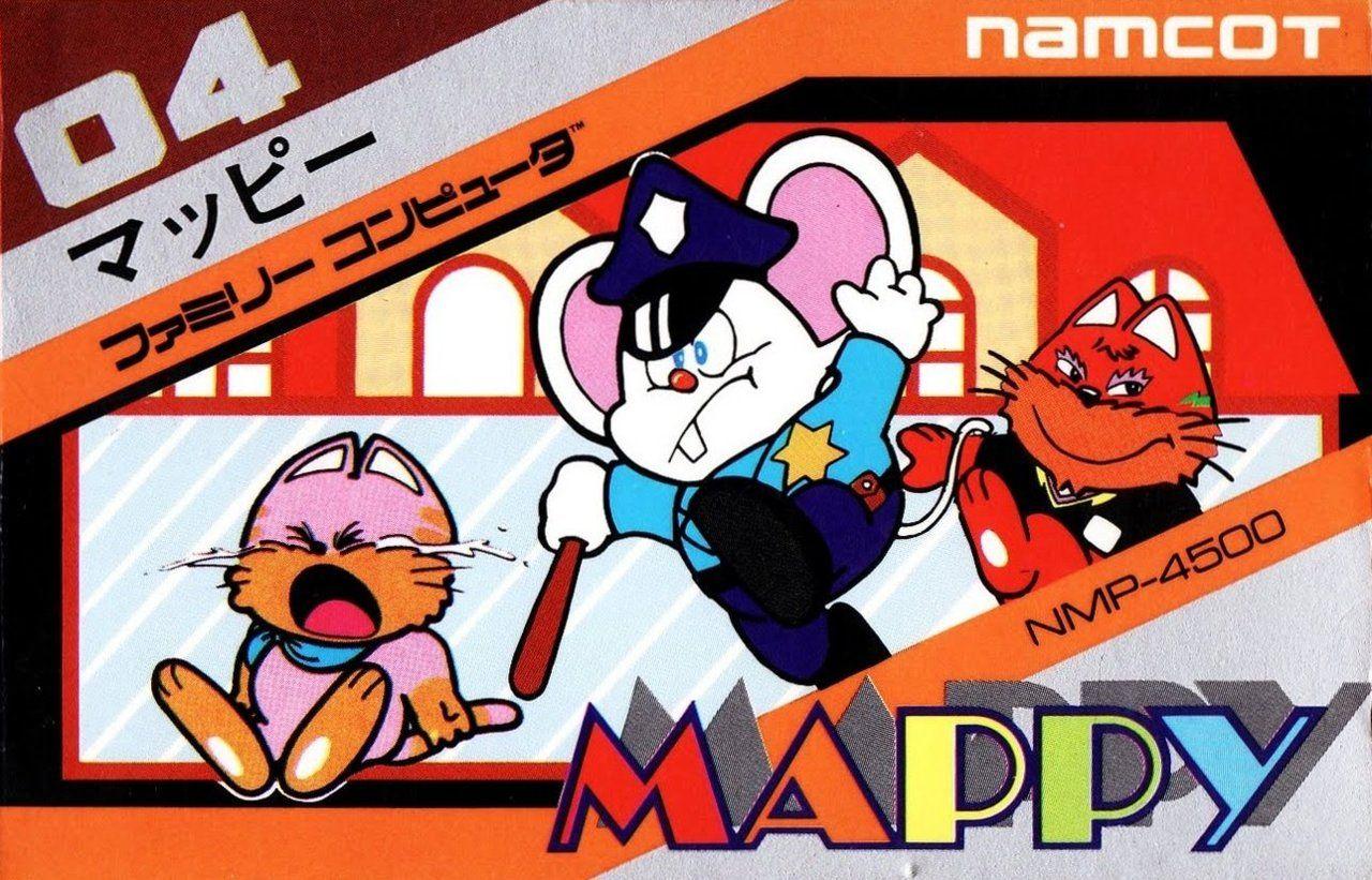 Mappy box art Retro video games, Retro gaming