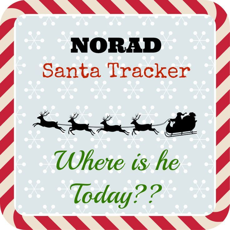 NORAD Santa Tracker App Santa tracker, Holiday crafts