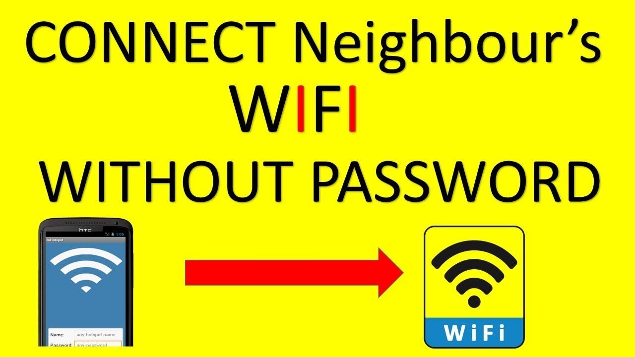 How to connect nearby wifi without password in Mobile | FYI