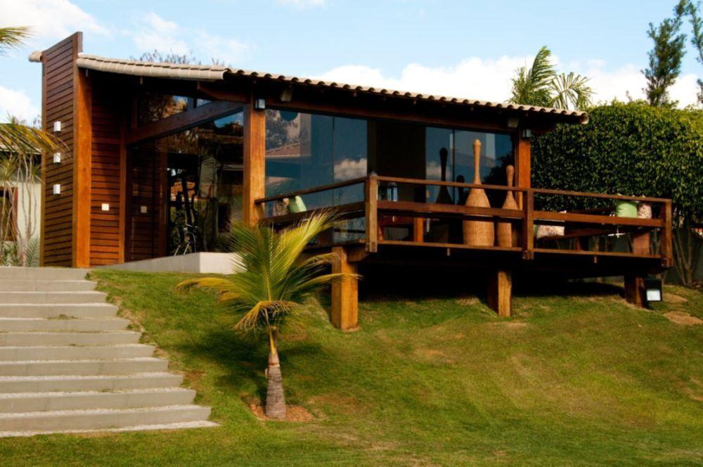 13 Casas Espetaculares Construídas Em Terrenos Inclinados | Casas ...