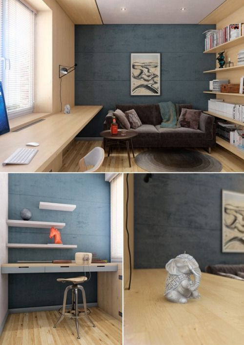 Via two lovely apartments featuring wood paneling