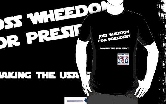 Joss Whedon For President by Buleste