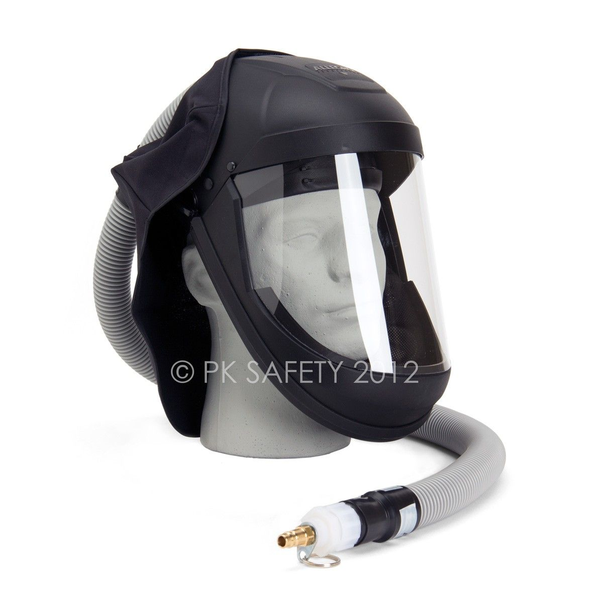 Sale Allegro Economy Supplied Air Face Shield With Low Pressure Adapter 164 50 Gas Mask For Sale Face Shield Air Filter Mask