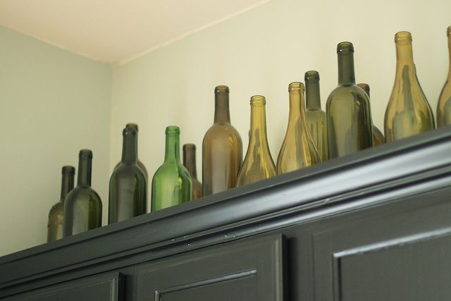 this for over a cabinet - save your wine bottles ... Ideas Decorating Above Kitchen Cabinets Wine on wine furniture decorating ideas, wine bar decorating ideas, wine countertop decorating ideas, wine home decorating ideas, wine bathroom decorating ideas, wine glass decorating ideas, wine shelves decorating ideas,