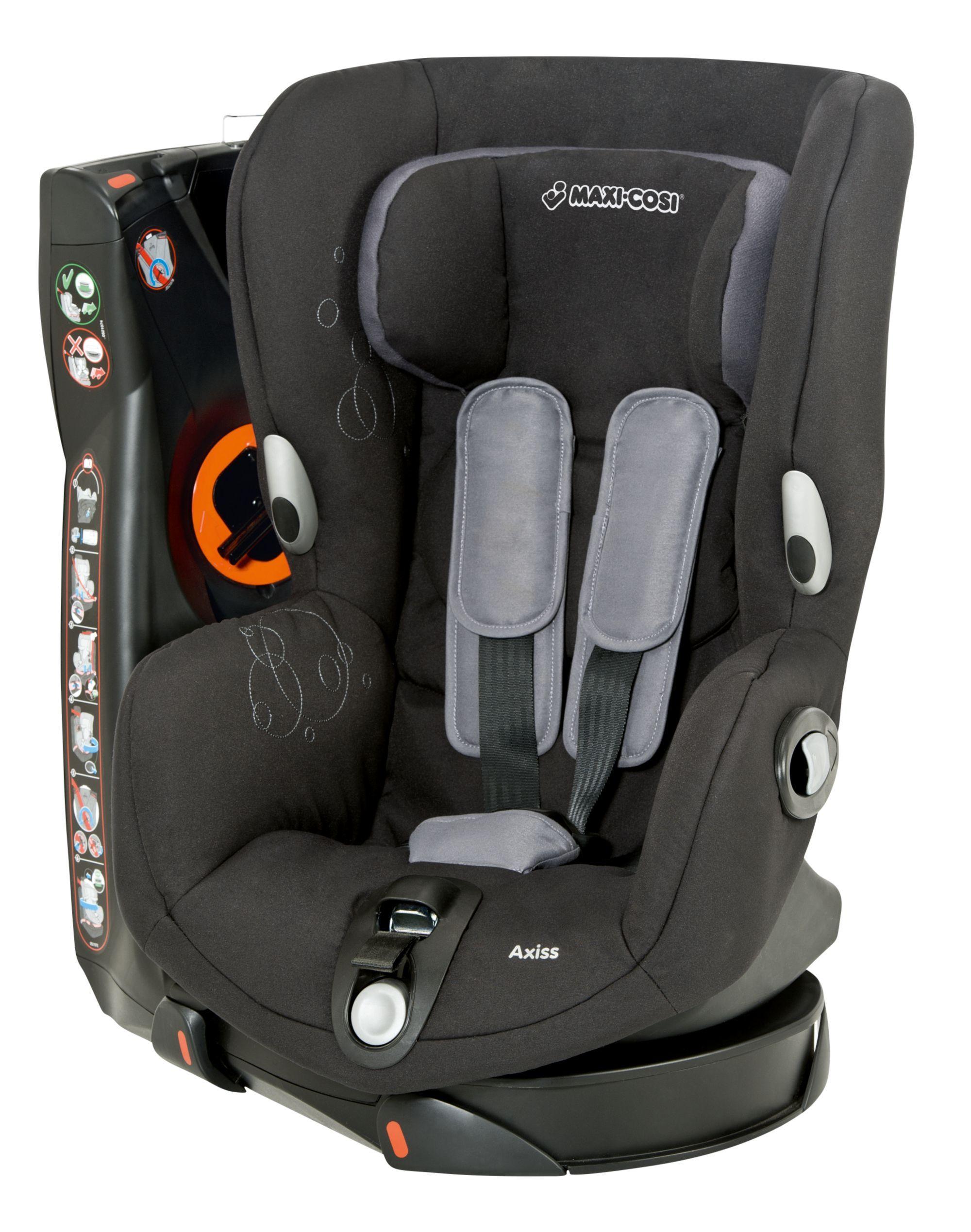 MaxiCosi Axiss Car Seat Total Black Toddler car seat