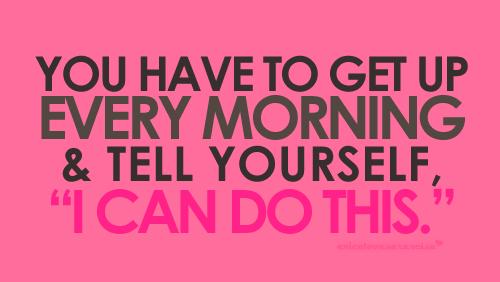 todas la mañanas !