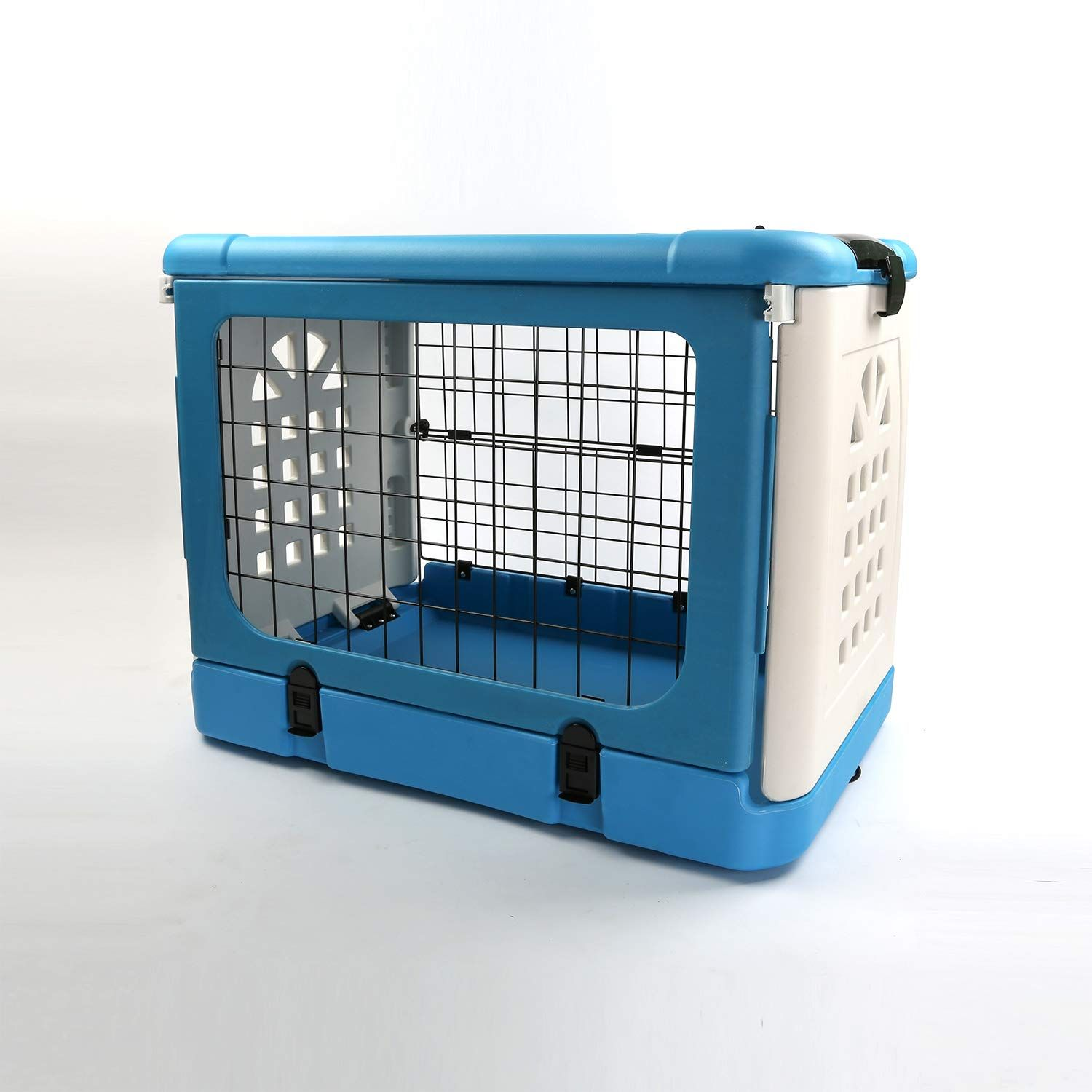 Pandb Pet Carrier Dog Cage Household And Car Pet Folding Pet Cage Carrier Basic Cratespet Carrier Blue Find Out Mor Dog Cages Pet Cage Pet Carriers