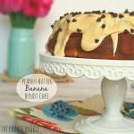 Peanut Butter Banana Bundt Cake