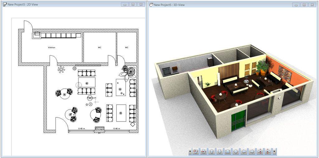 2D Interieur Design - Wohnzimmer Ideen 2D-Interieur-Design-never
