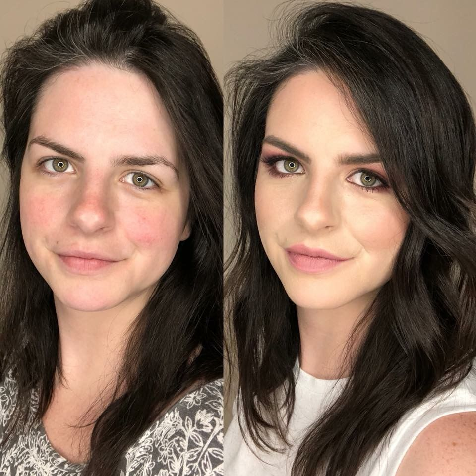 highlight and contour before and after maskcara beauty
