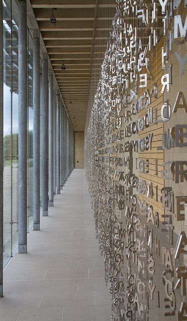 Jaume Plensa - Letters 1 | Flickr - Photo Sharing!