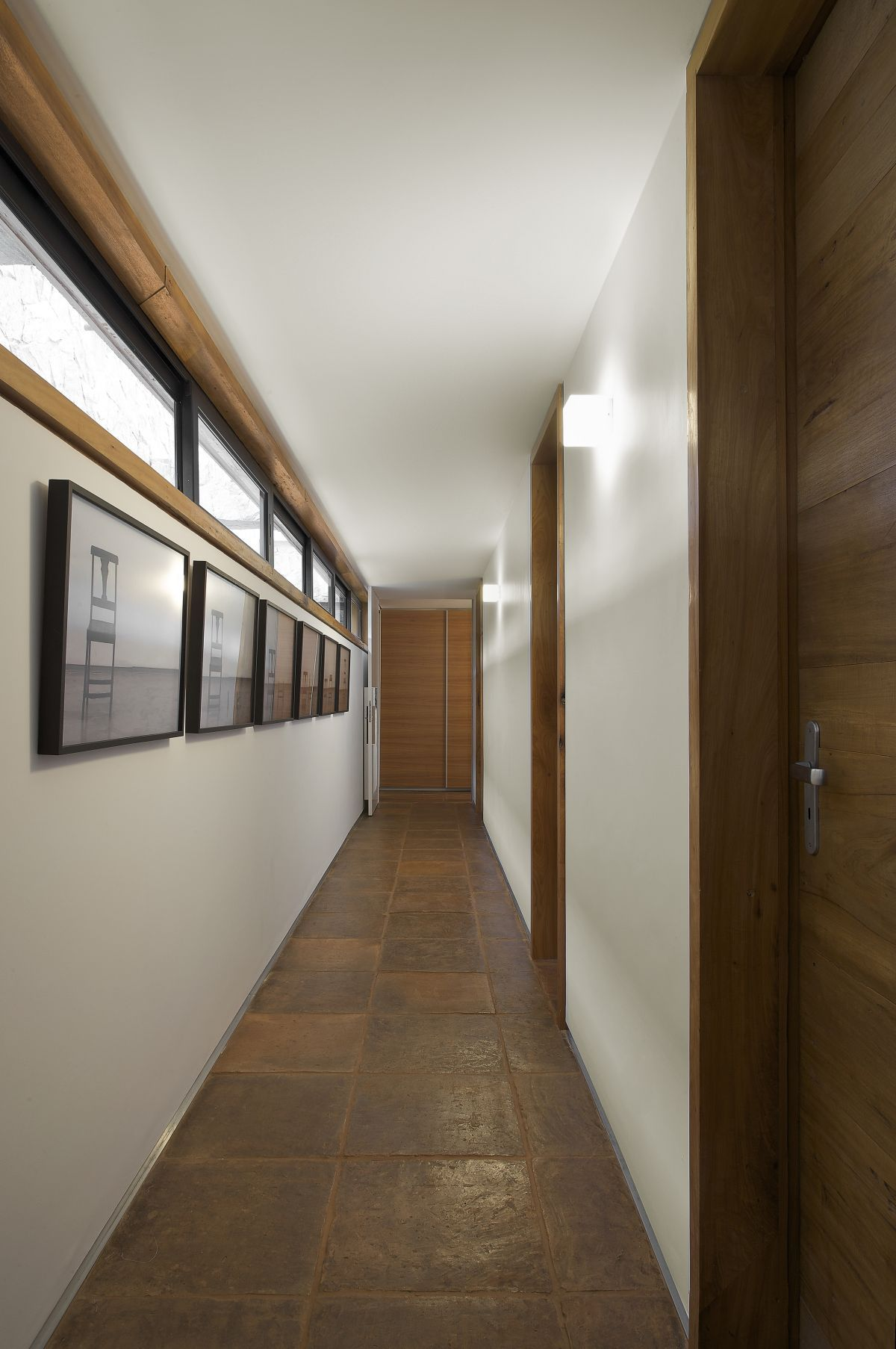 Modern Office Design Images Modern Wood Floor Corridor Interior