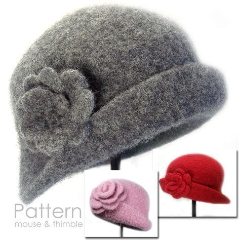 Image result for Cloche Hat Pattern Free Printable | hat | Pinterest