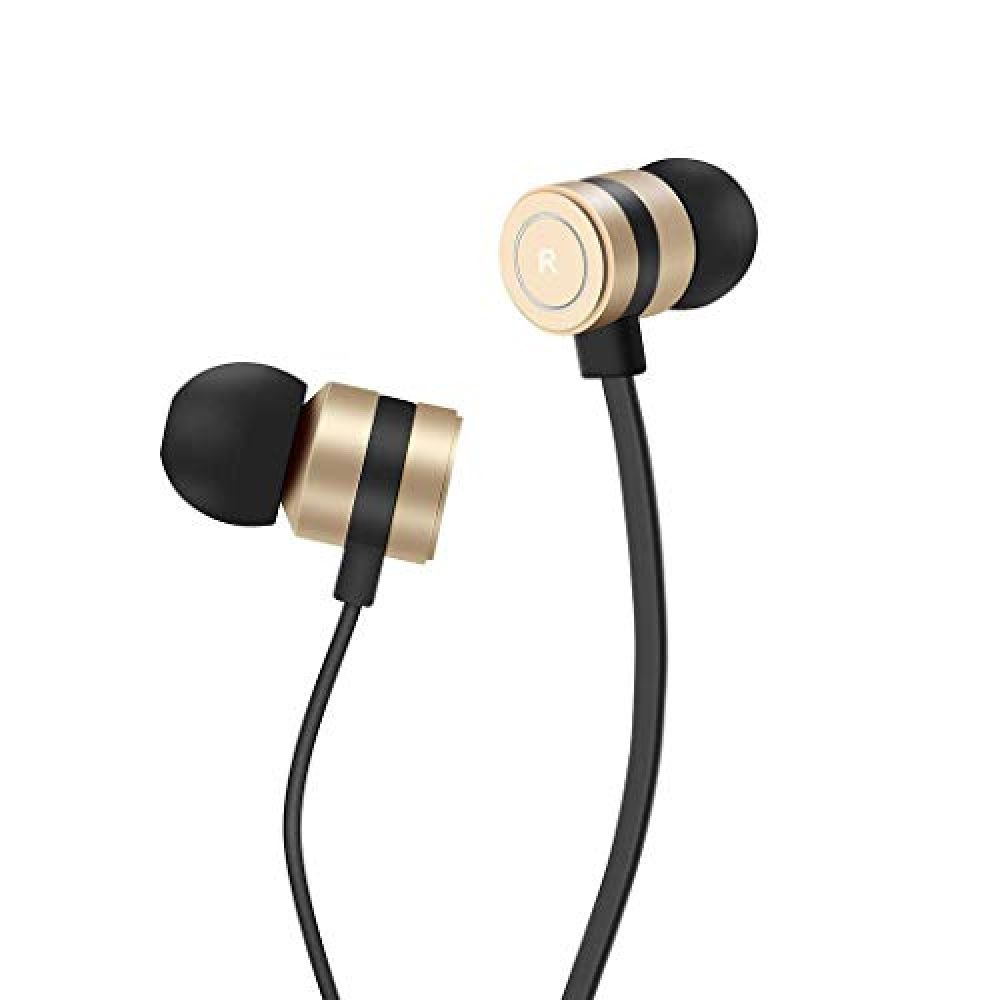Headphones In Ear Earbuds Noise Isolation Headsets Heavy Bass Earphones With Microphone Compatible Iphone Samsung Ipad And Most Android Phones Jn1 In 2020 Apple Headphone Noise Isolation Headphones