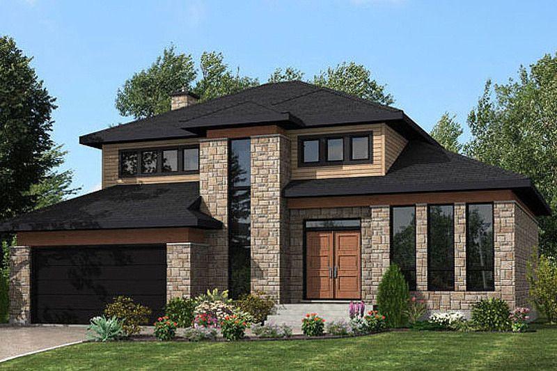 Modern Style House Plan 3 Beds 15 Baths 2072 SqFt Plan 138