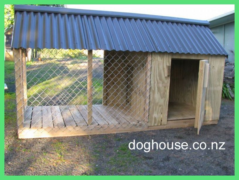 Outdoor Dog Puppy Houses Kennels And Runs Dog Kennel Ideas
