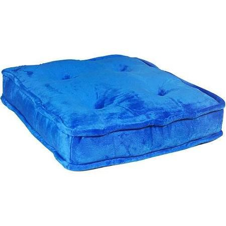 Your Zone Floor Cushion, Cobalt Walmart | Home - Floor Cushions ...