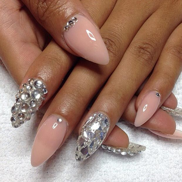 30 Creative Stiletto Nail Designs | Claw nails, Pointy nails and ...