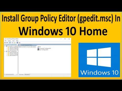 gpedit.msc windows 7 usb enable