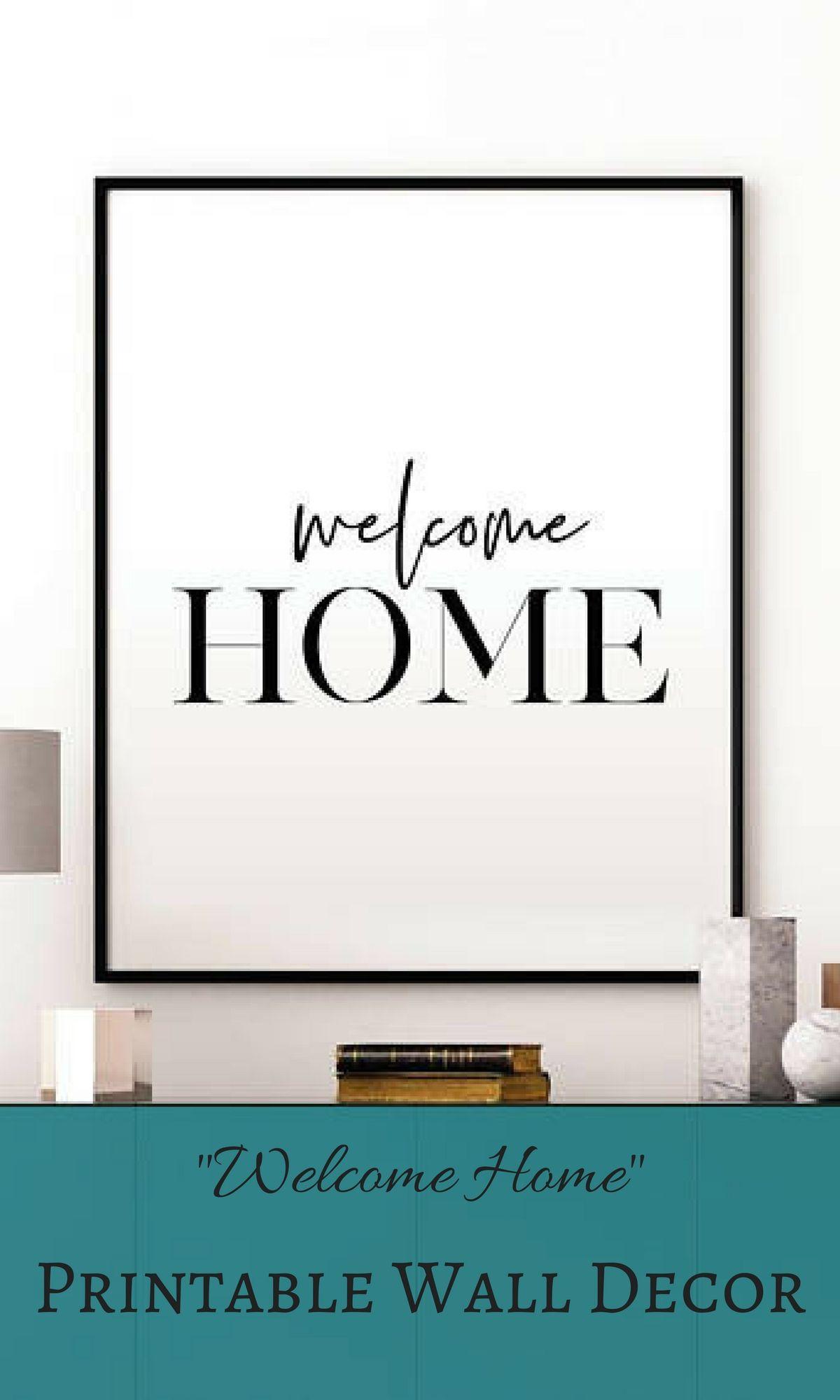 welcome home sign printable - Kubre.euforic.co
