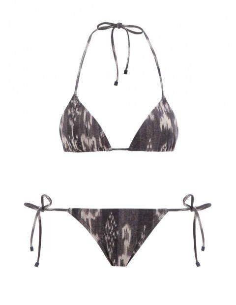8cb3d7d9dc2dd Tali Mini Tri Bikini #neck#Halter#Ikat | Swim Suit | Bikinis ...
