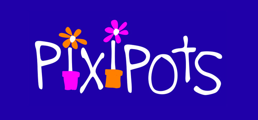 Branding for Pixipots SME business that produced hand