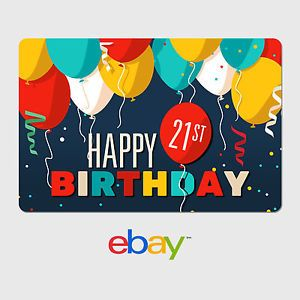 Happy 21st Birthday Gift Cards Starbucks Card Gifts For Teens
