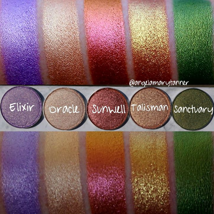 NEW STROBE COSMETICS EYESHADOWS REVIEW, SWATCHES and