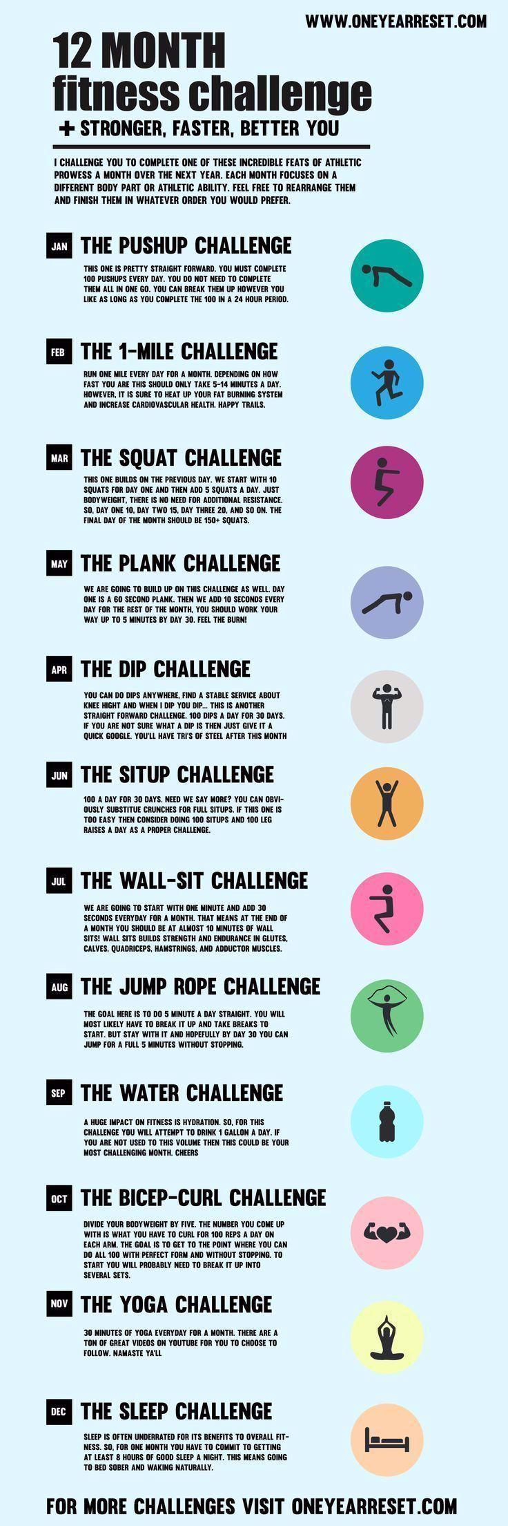 # Herausforderung #Tag #Fitness #Ideen #Monat #MonatlichFit - # Herausforderung #Tag #Fitness #Ideen...