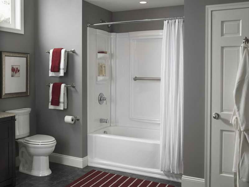 Stand Up Shower Kits Tub Bathroom Remodel Cost Shower Surround
