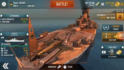 😝 Warship battle mod apk free shopping   WARSHIP BATTLE3D World War