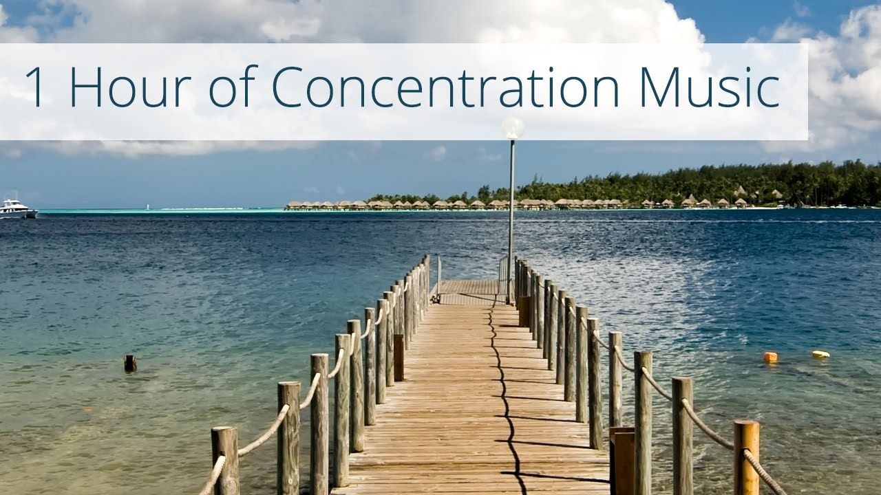 1 hour of concentration music - meditation music, work music