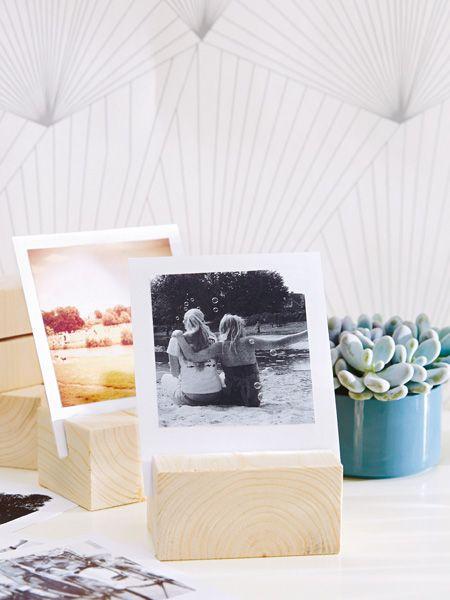 Fotowand selber machen kreative ideen picture frame bilderrahmen pinterest - Fotoalbum dekorieren ...