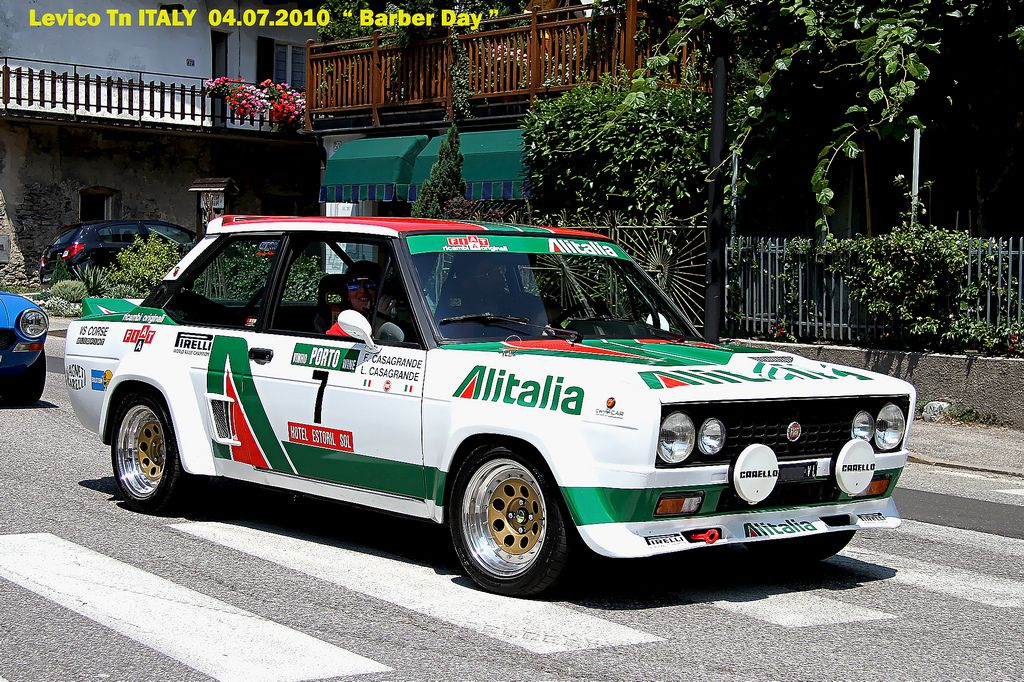 Fiat 131 Abarth Alitalia With Images Fiat Fiat Cars Rally Car