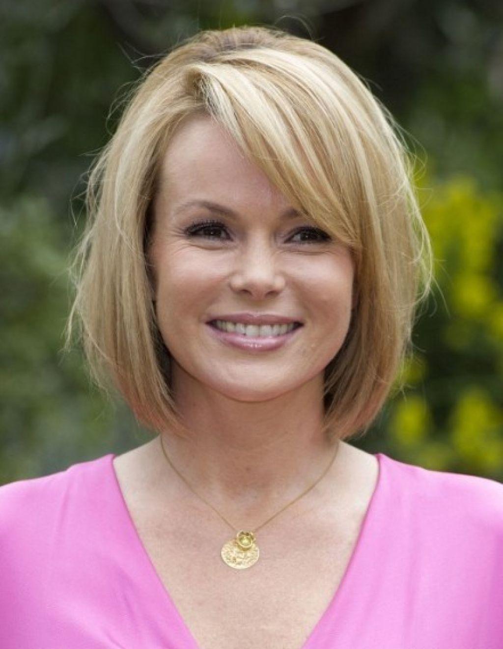 Medium bob hairstyles for women over 50 -