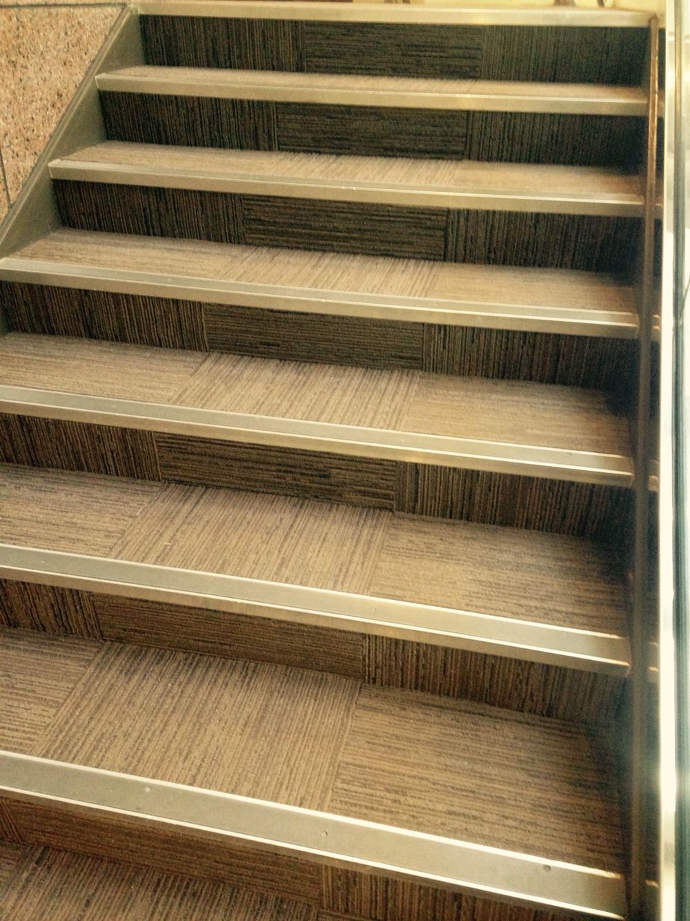 Interface Carpet Tile With Stair Nosing At Our