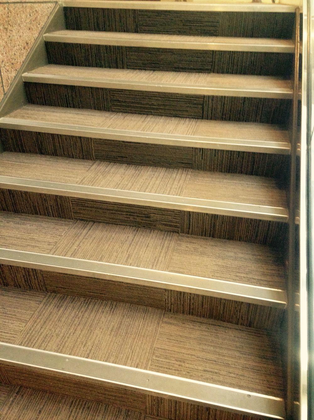 Interface Carpet Tile With Stair Nosing At Our Headquarters In | Carpet Stair Nosing Metal | Anti Slip Stair | Laminate Flooring | Edge Trim | Edging Nosings | Inserts