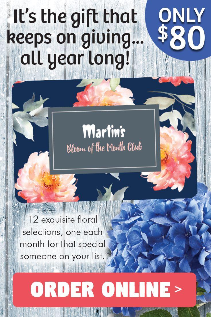 Bloom of the month club flower market bloom birthdays