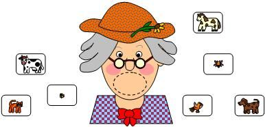 There was an Old Lady who Swallowed a Fly Activities to retell