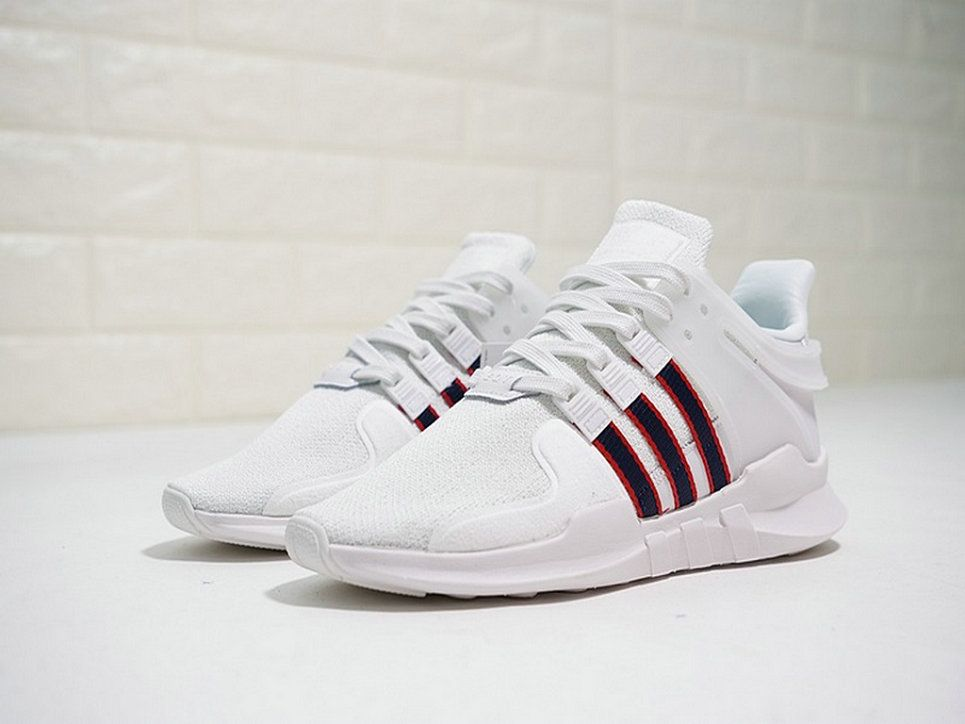 Adidas EQT Support ADV 9317 White Deep Blue Red Bb6778 High