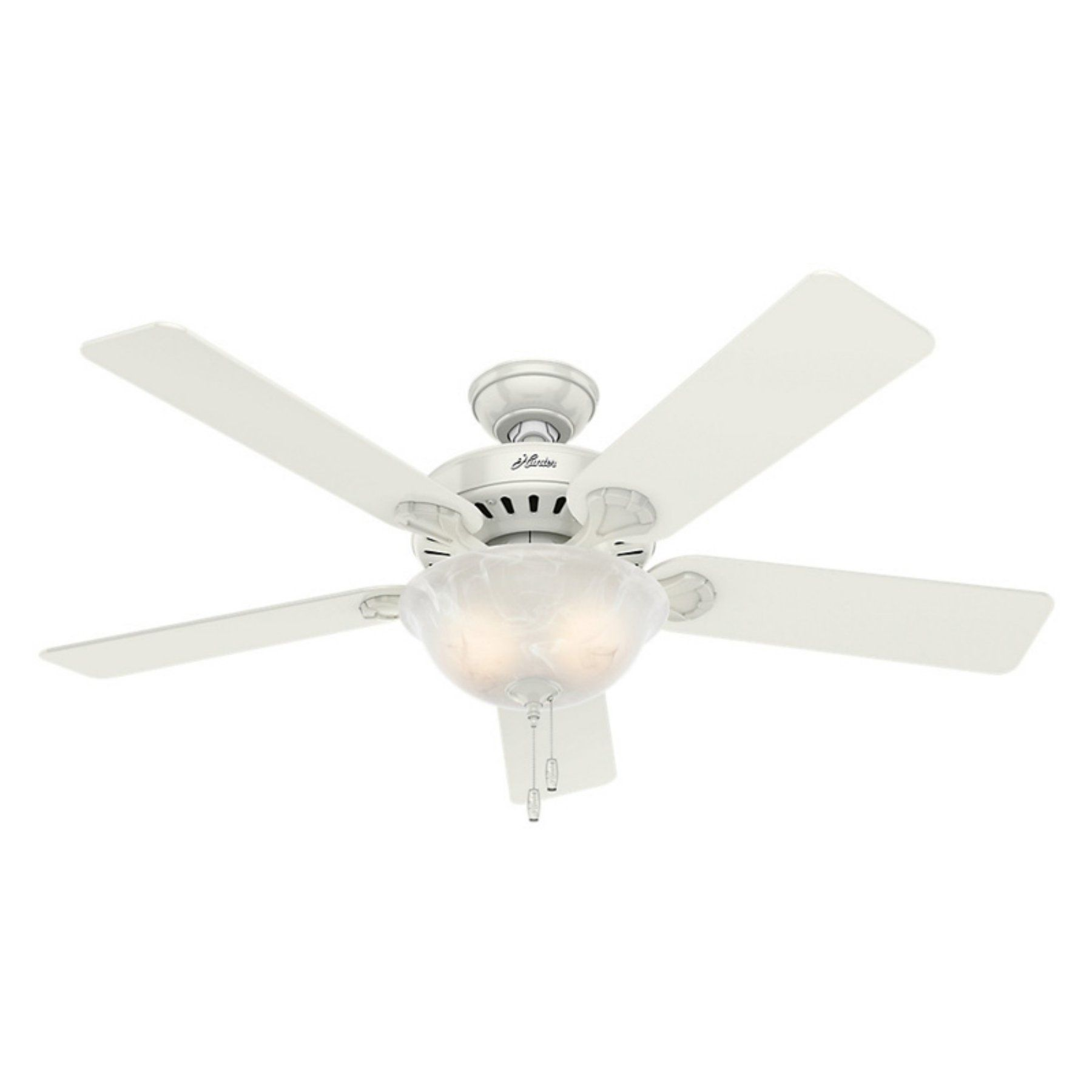 Hunter Pro S Best Five Minute 52 In Indoor Ceiling Fan With Light