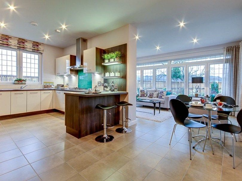 Superior design and style in this Mactaggart & Mickel open plan ...