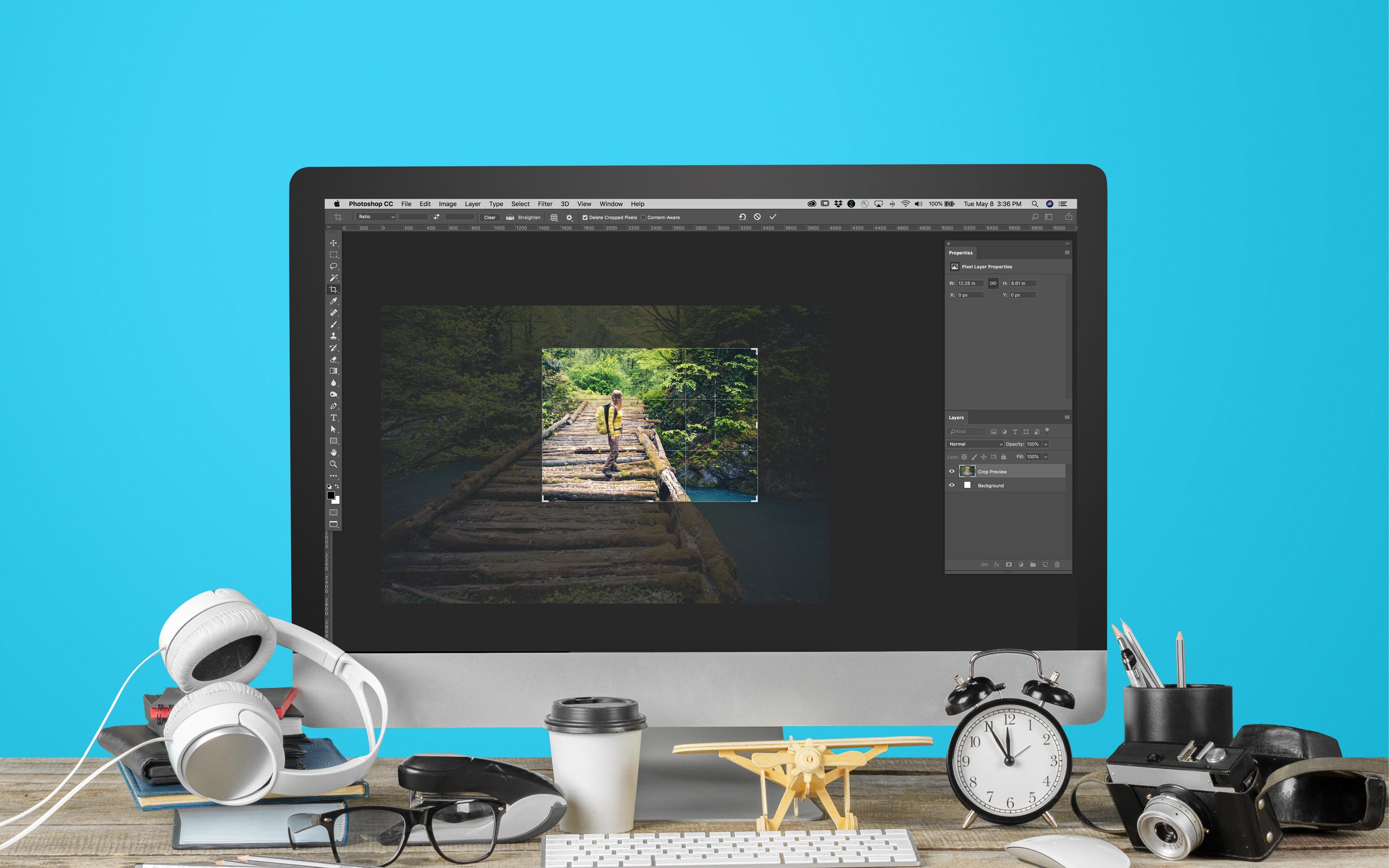 Basic Photo Editing: How to Use the Crop Tool in Photoshop ...
